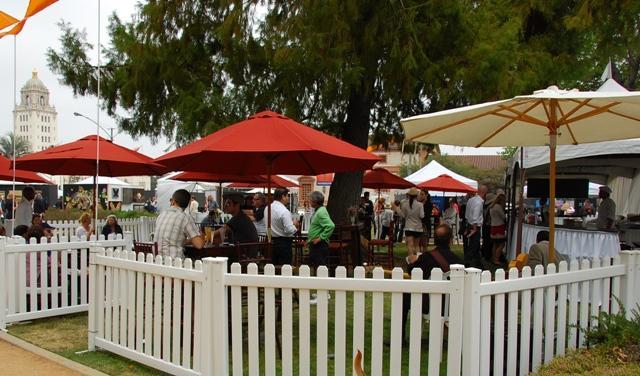 BH ArtShow Wine Garden