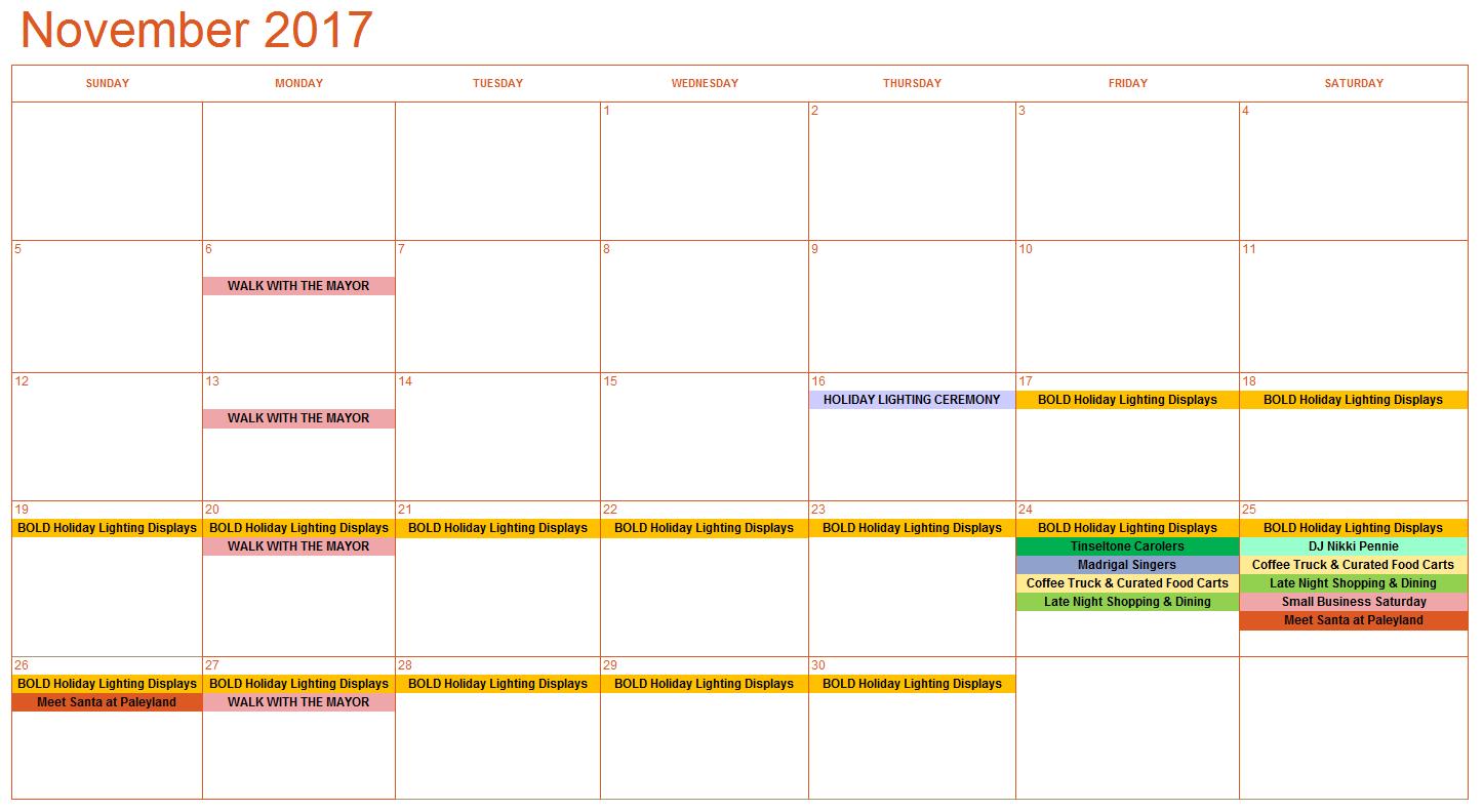 November Calendar 11.21