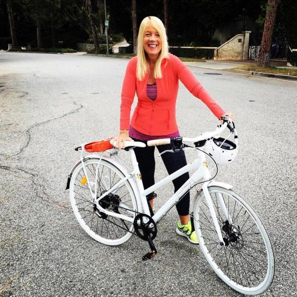 Mayor Bosse and Bike