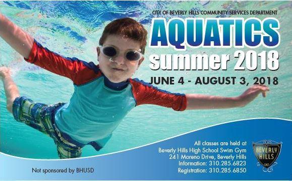 2018 Aquatics flyer