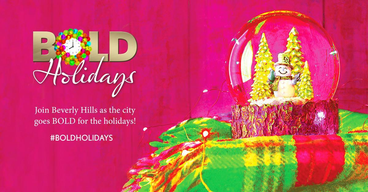 BOLD Holidays Banner
