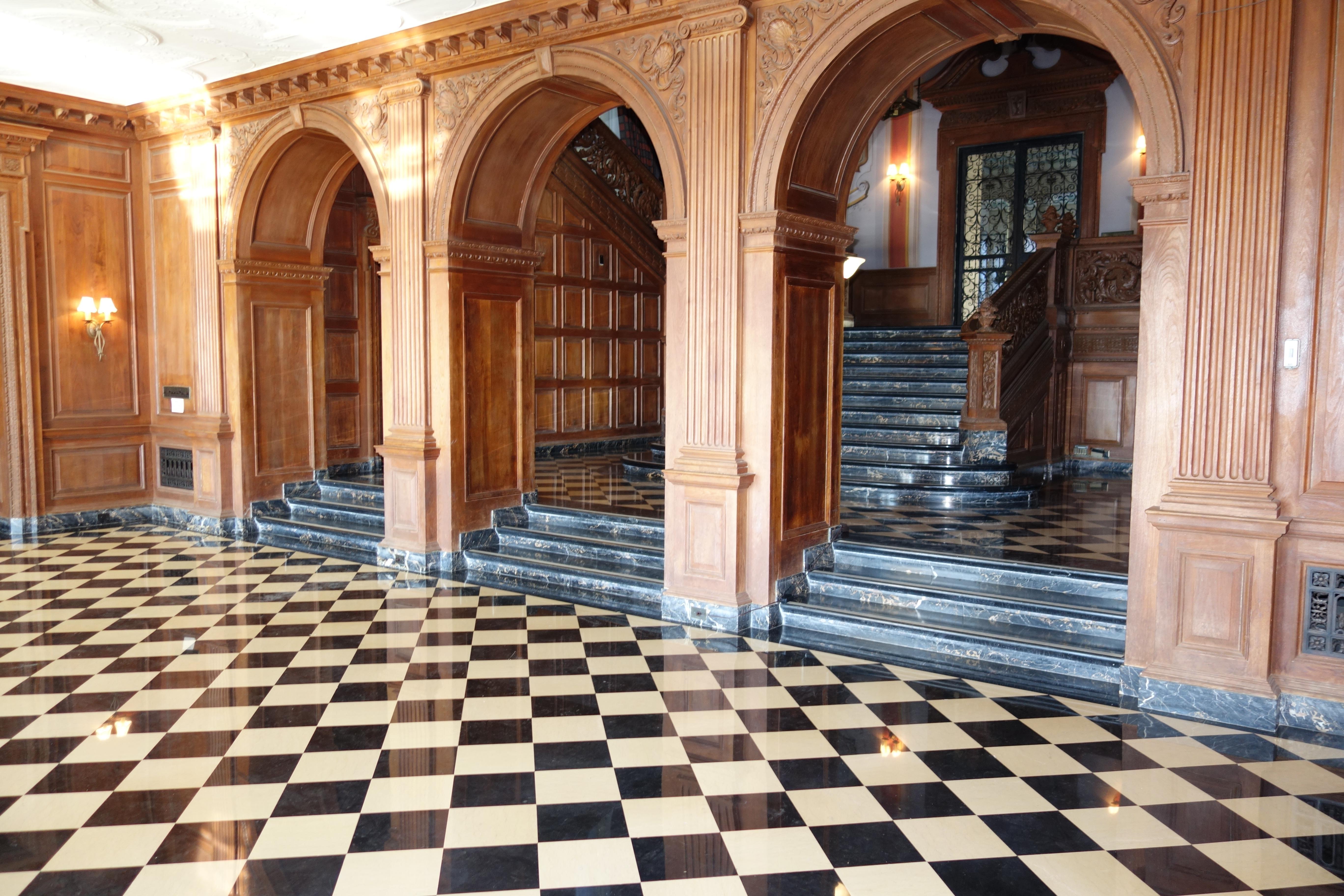 Greystone main hallway