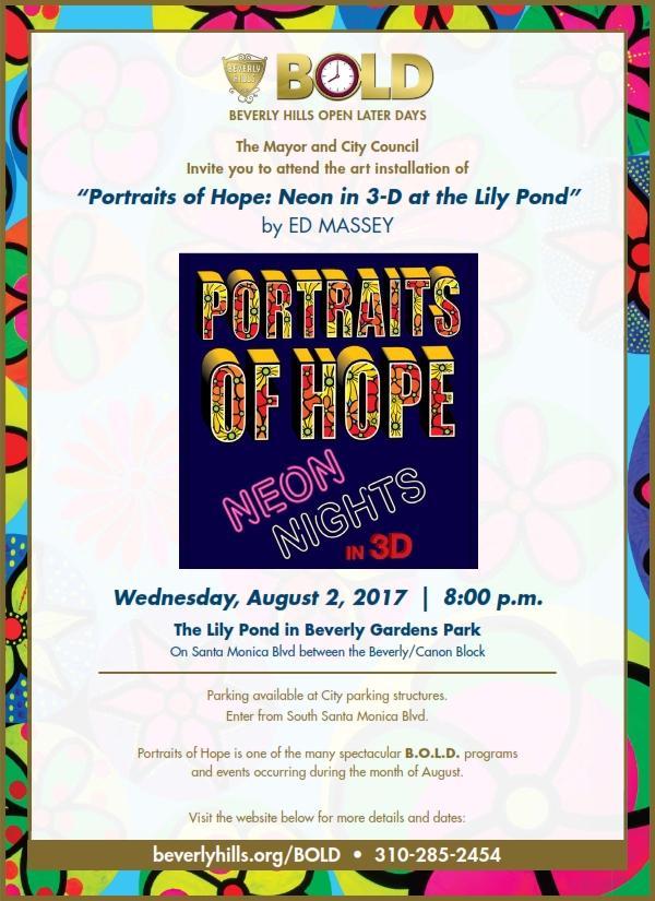 Portaits of Hope