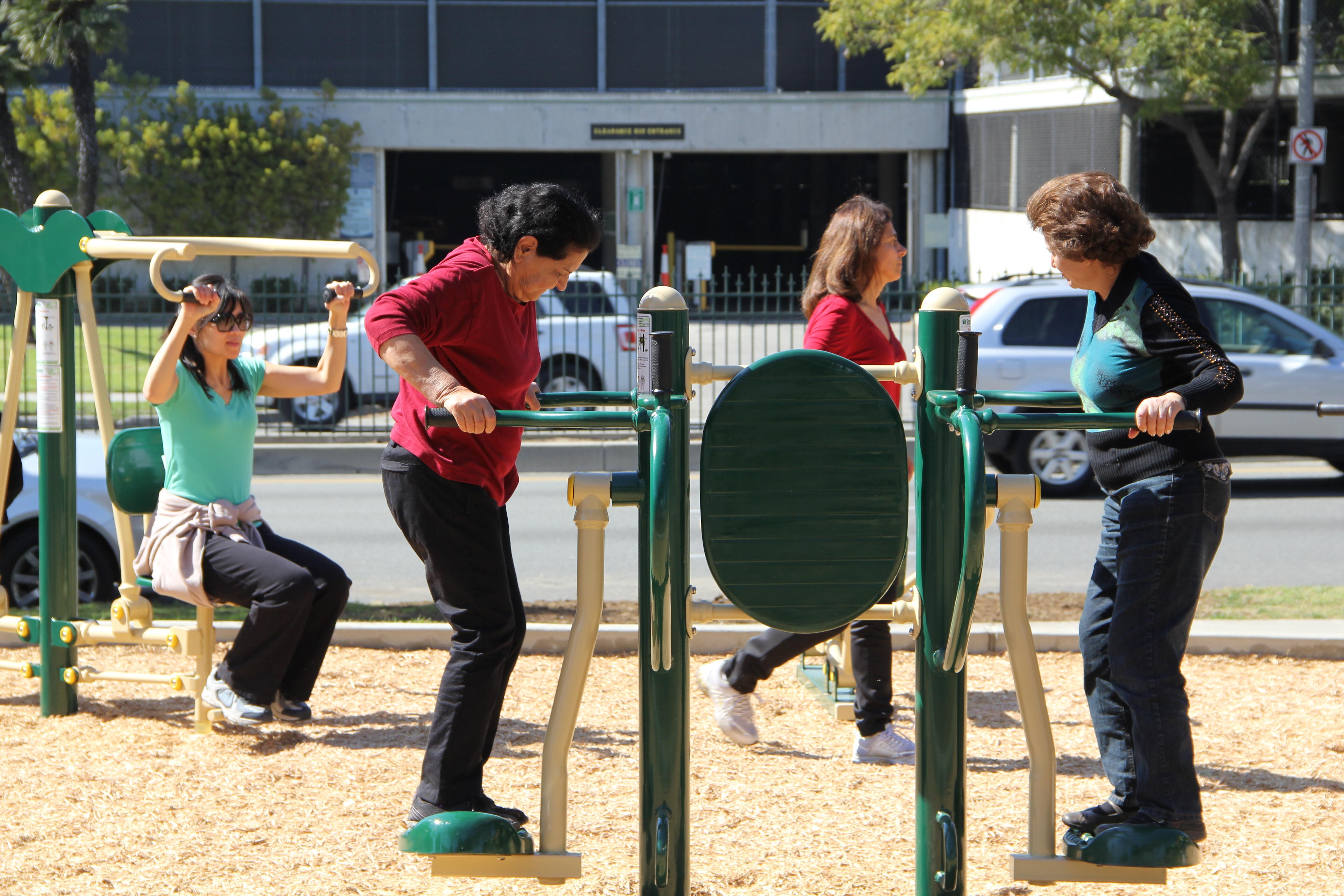 La Cienega Outdoor Fitness Pavilion