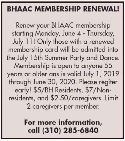 BHAAC Membership