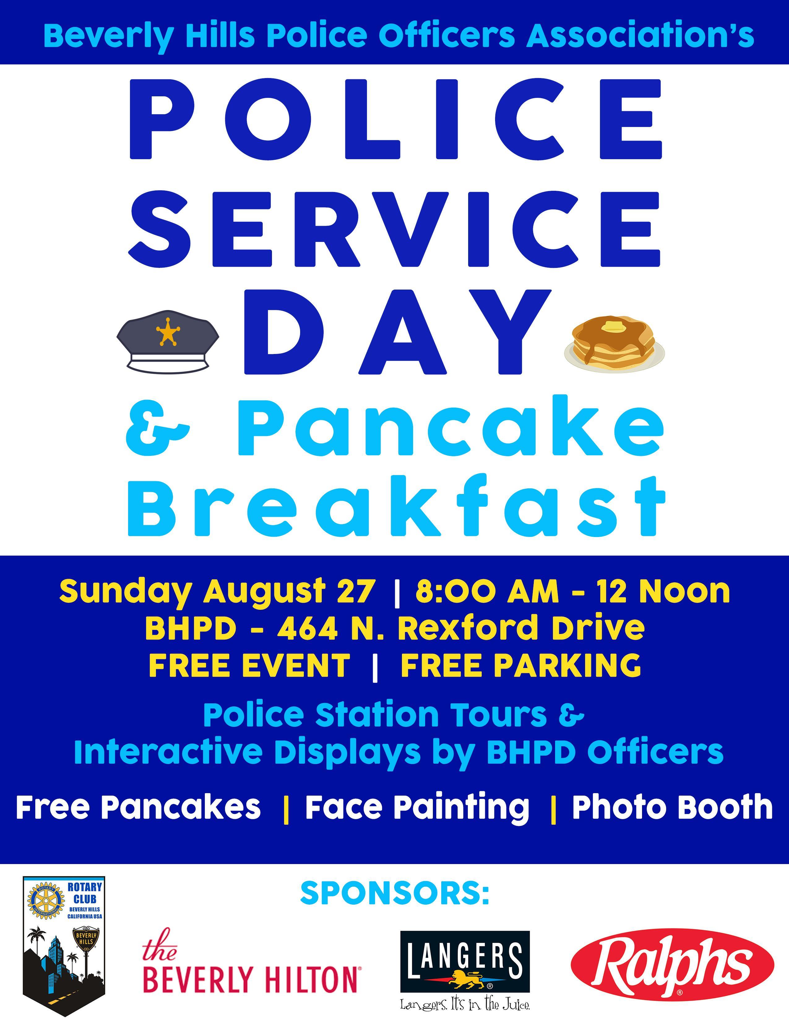 2017 Police Service Day & Pancake Breakfast