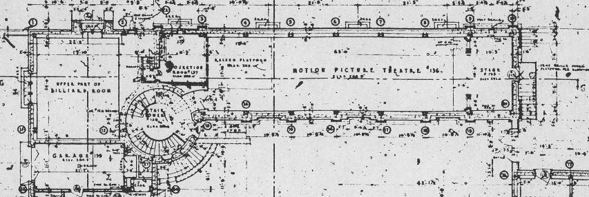 Kaufmann detail showing theatre