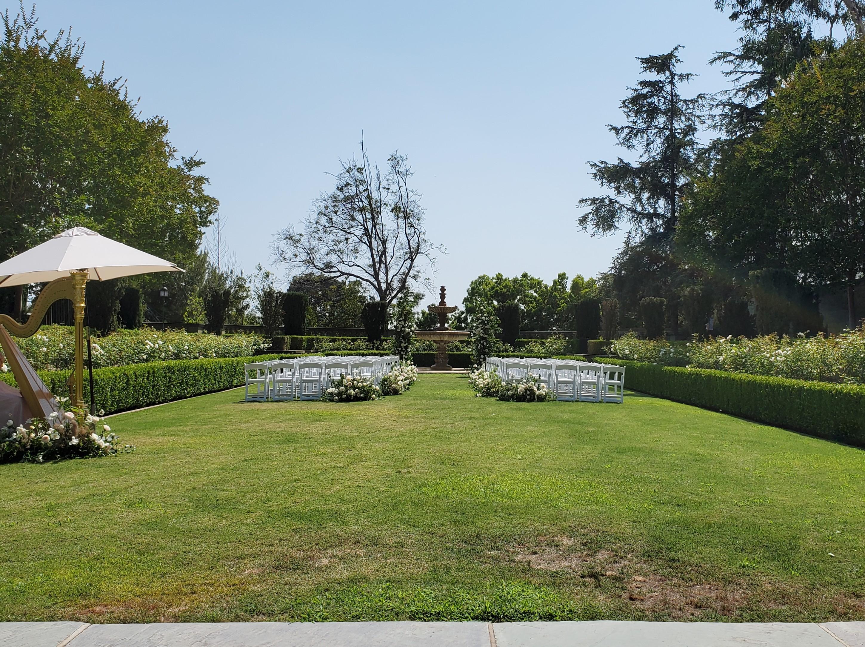 Formal Garden_wedding ceremony 2021