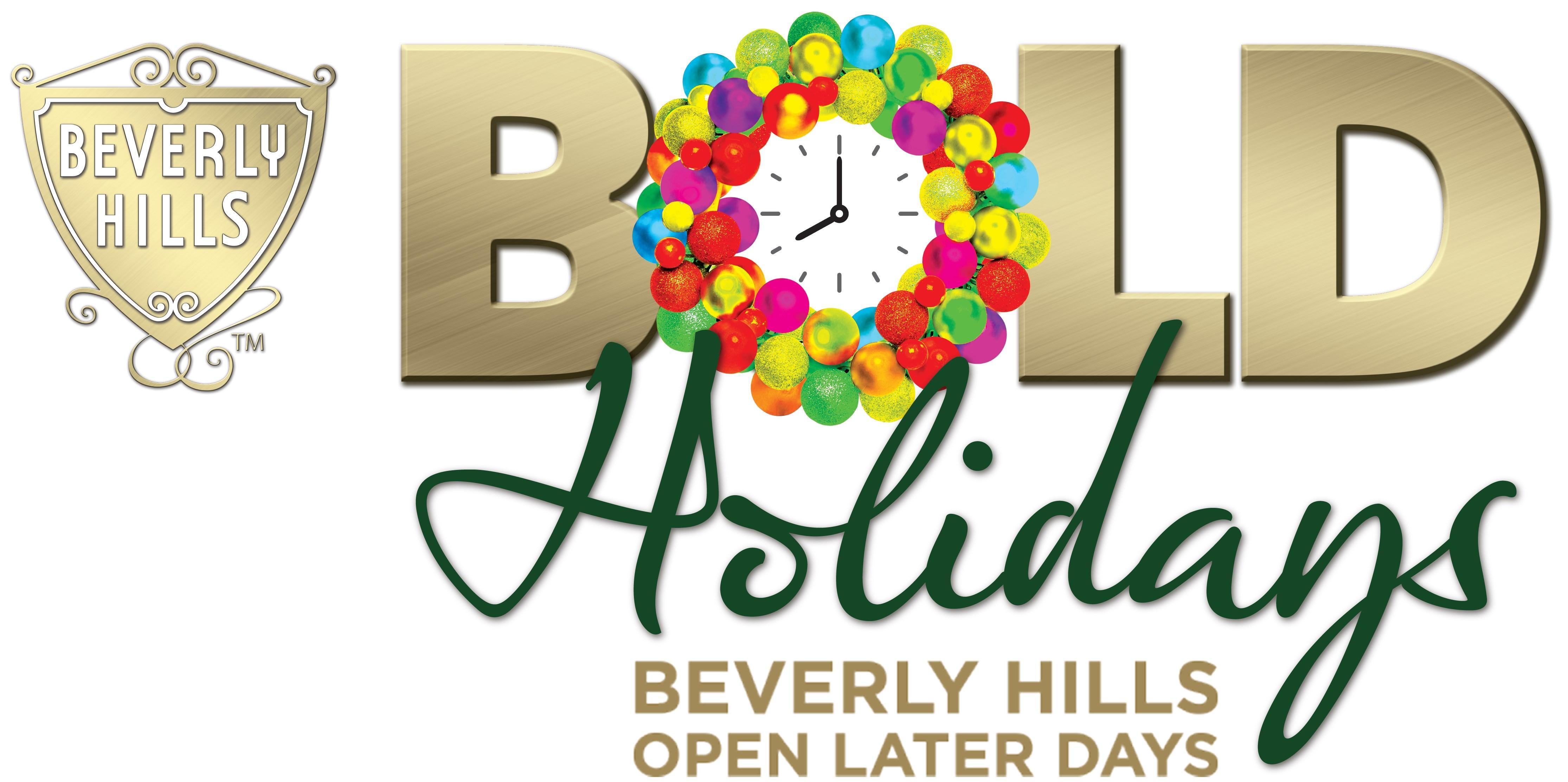 BOLD Holidays 2019 logo