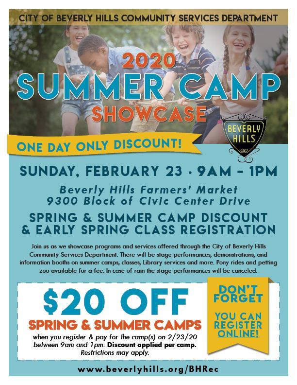 2020 Summer Camp Showcase